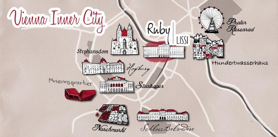Hotel Am Schwedenplatz In Wien Ruby Lissi Hotel Bar